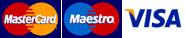 visa mastecard maestro american express