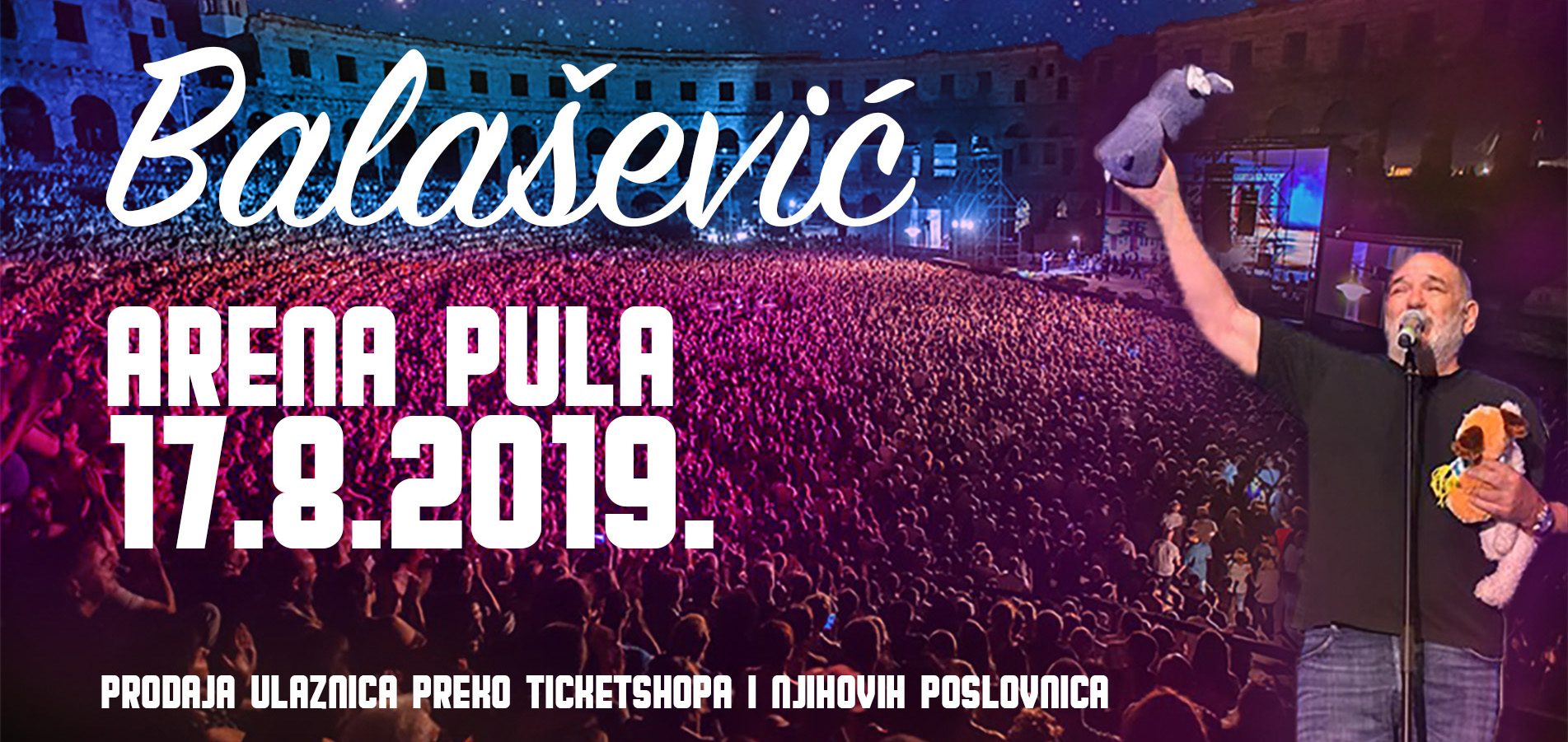 Arena, Pula  17.08.2019.