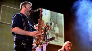 Balasevic koncert cakovec 2017. saksofon