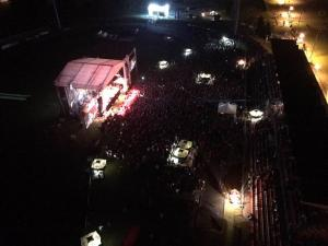 Balasevic koncert cakovec 2017. pogled na publiku