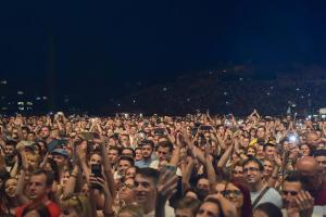 Balasevic koncert tuzla 2017. publika