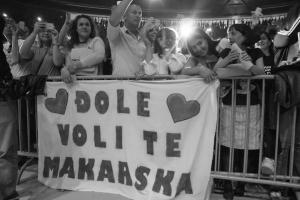 Balasevic koncert, Zadar 2017. Djole voli te Makarska
