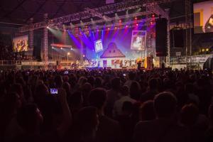 Balasevic koncert, Zadar 2017. pogled na scenu